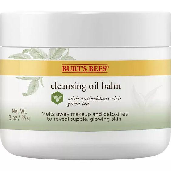 burt's bees cleansing balm