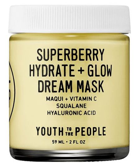Youth to the People Superberry Hydrate + Glow Dream Mask with hyaluronic acid